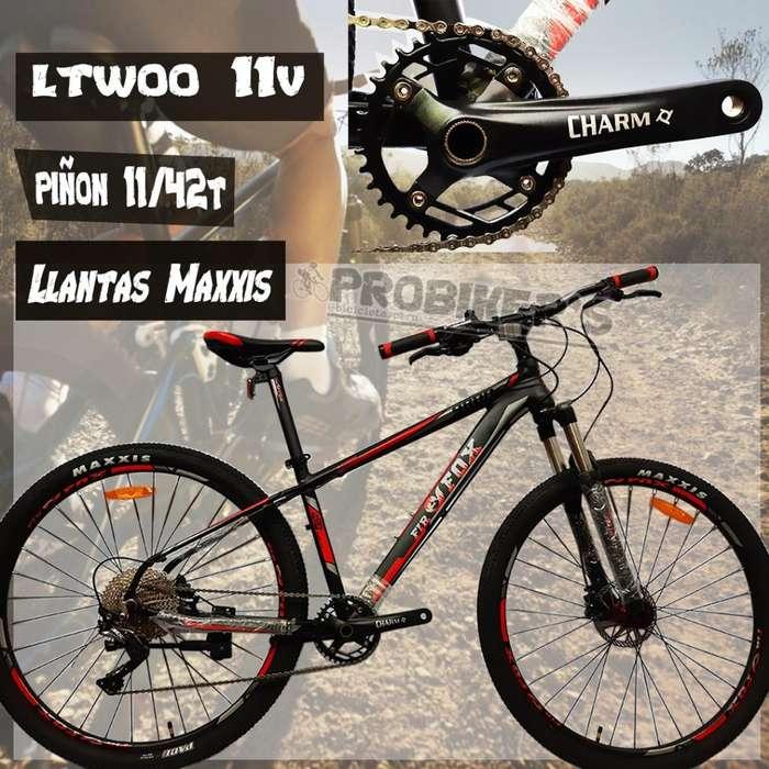 Bicicleta Aro 29 Mtb Mono Plato 11x1
