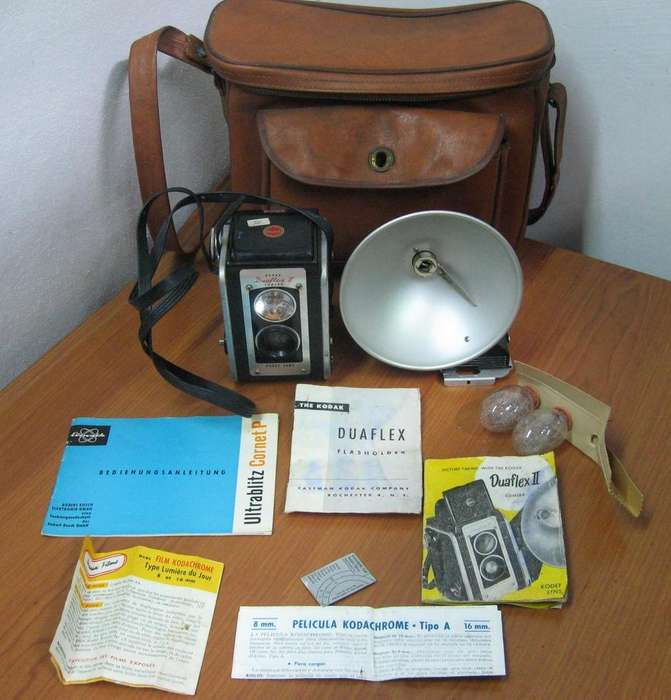 Kodak Duaflex Ii flash Lamp Lente Manuals Rollo En Martinez