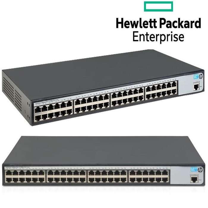 Switch Administrable HP Gigabit Ethernet 1620-48G, 48 Puertos 10/100/1000Mbps, 48 Gbit/S