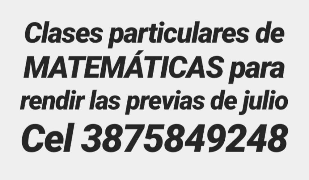 Preparamos Programas de Matemáticas