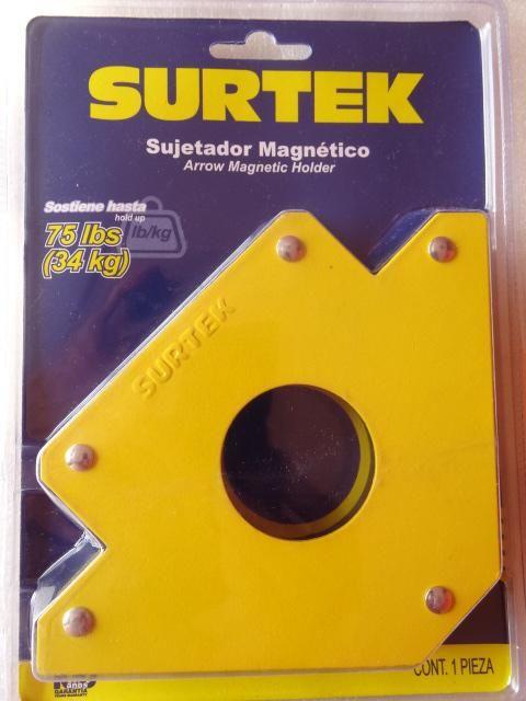 Escuadra Magnética Surtek de 34 kilos de sujeción