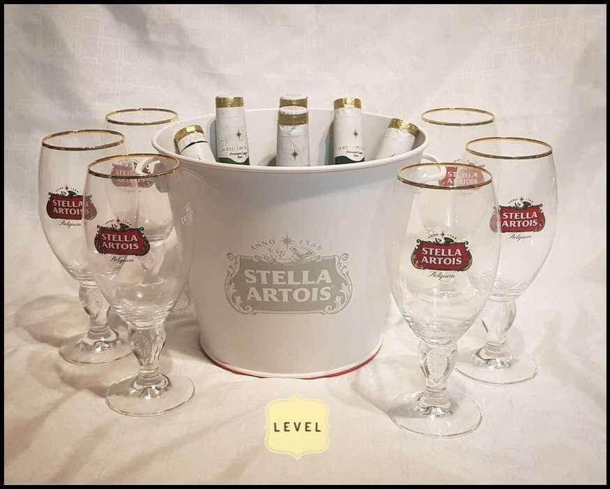 Copas Frapefa Stella Artois