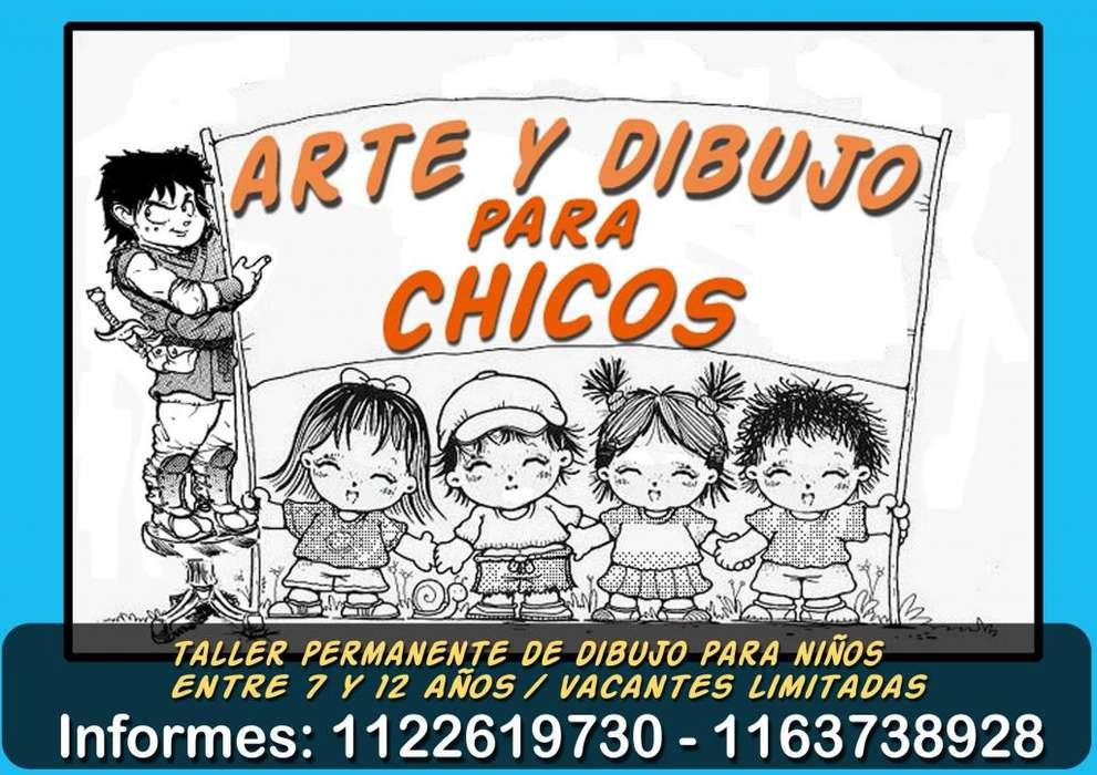 DIBUJO PARA CHICOS
