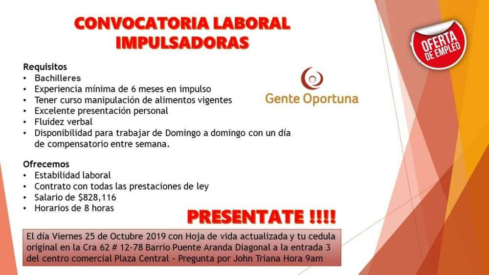 Impulsadoras Bogota