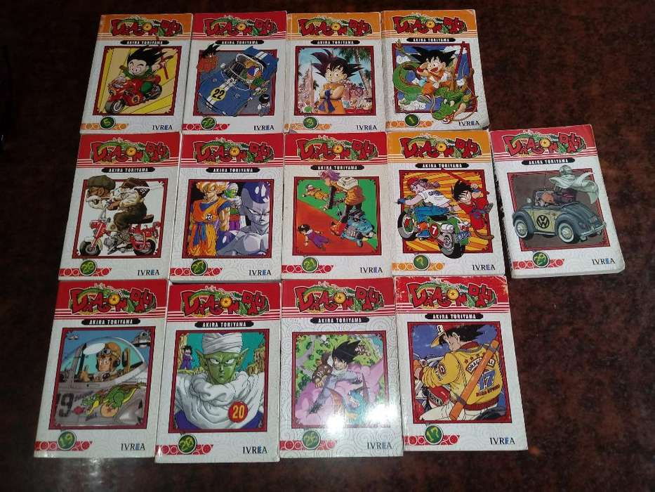 Coleccion Libros de Dragon Ball