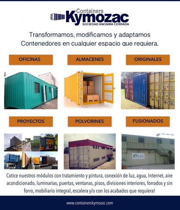 Containers Kymozac