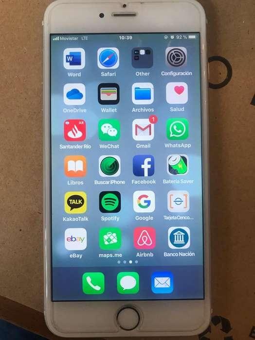 iPhone 6 Plus 64 Gb- NO PERMUTO