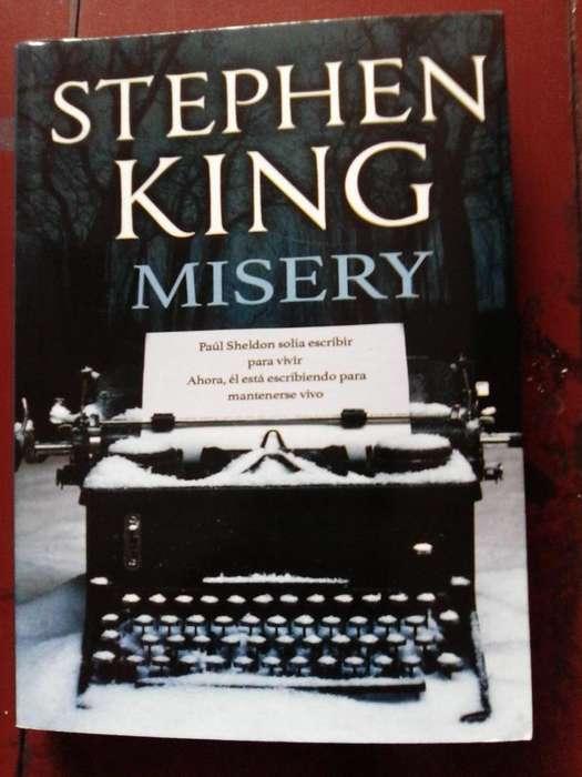 Libro Stephen King Misery