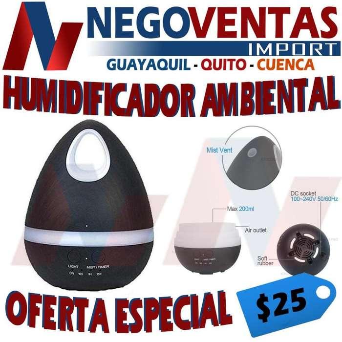HUMIDIFICADOR TIPO ALMENDRA AMBIENTAL DE CASA DE OFERTA