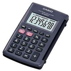 Calculadora de bolsillo CASIO HL 820LV de 8 dígitos NUEVA