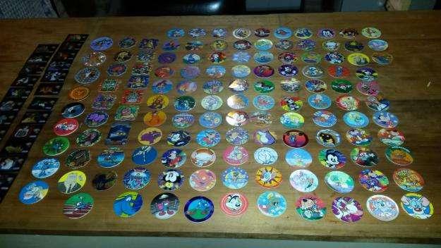 vendo lote de 181 tazos coleccionables