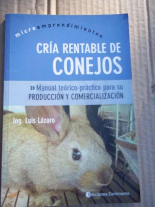 LIBROS CRIA Y EXPLOTACION DE CONEJOS