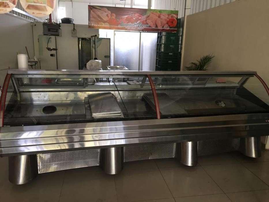 Vitrina - congelador - congelador, exhibición y conservación de alimentos, excelente estado.