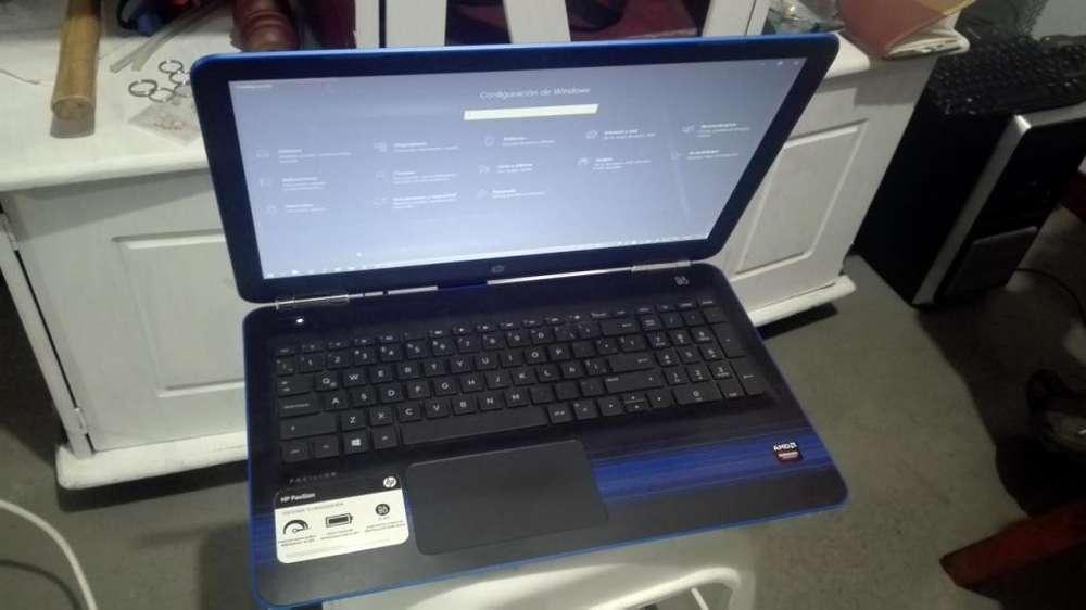 Portatil HP Gamer grafica dedicada 4GB DDR4 Amd a10 comparendo i7
