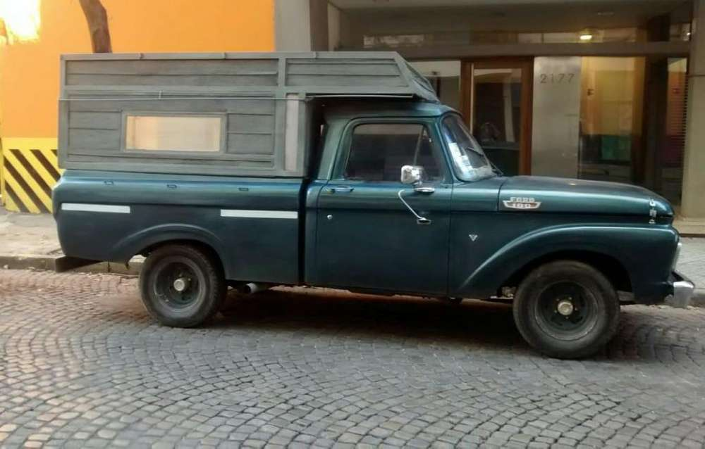 FORD F100 PICK UP 64 EXCELENTE Soy titular CEL 3416189163