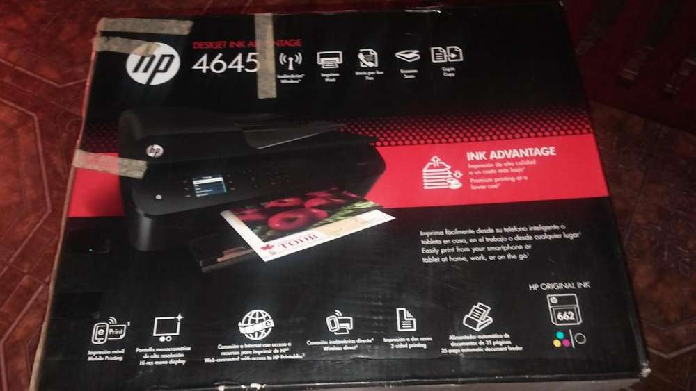 Multifuncion Hp Deskjet 4645 Usada