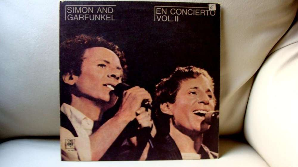 LP vinilo Simon and Grafunkel En Concierto año 1981