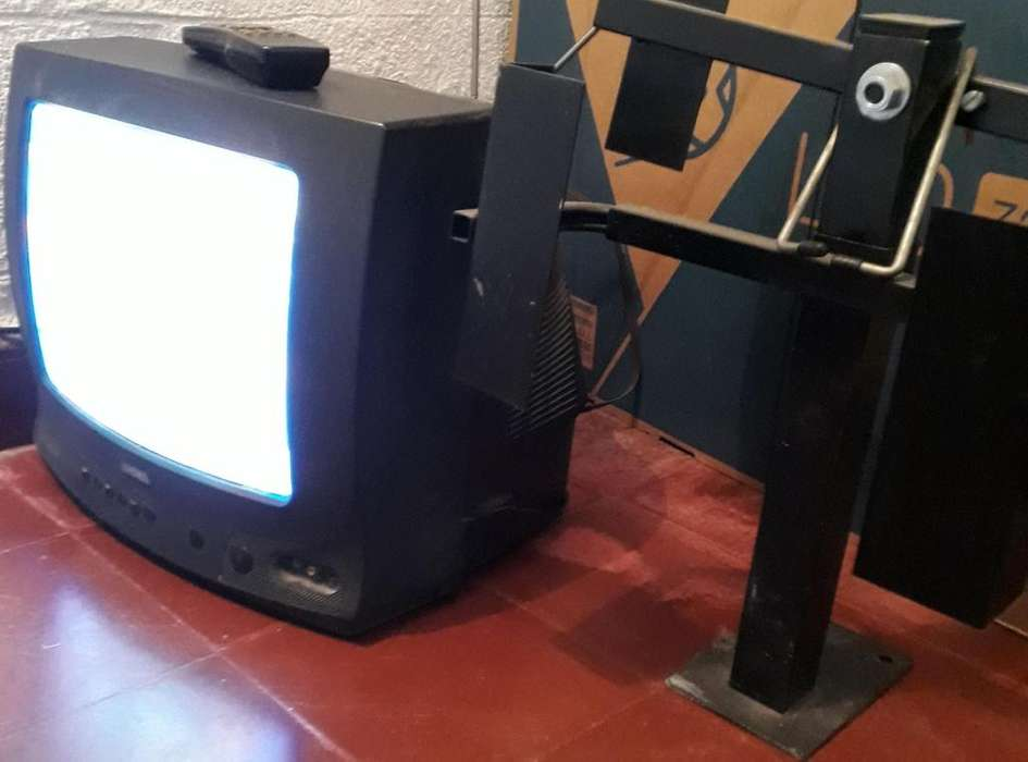 Tv color 14 c/soporte