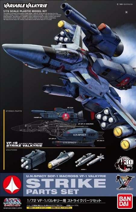 Bandai Strike Parts Set para la Valkyria VF1 de Macross Robotech