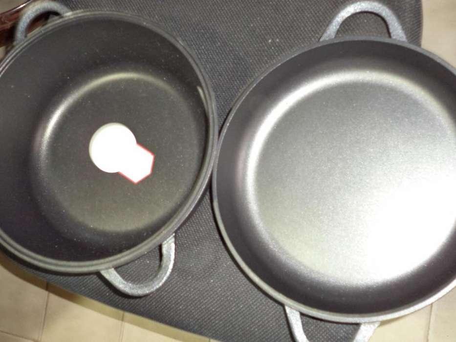 Essen Paellera NUEVA Set Básico 28 Cm Roca Silver Antiadherente