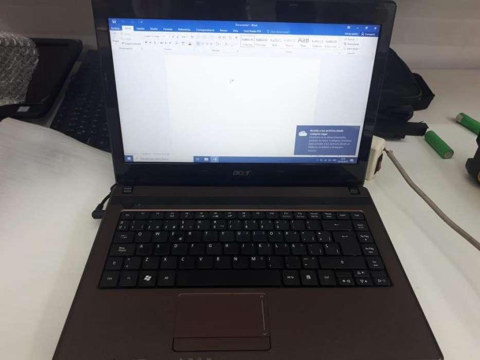 Notebook Acer Aspire 4738 IMPECABLE bateria como nueva 9000