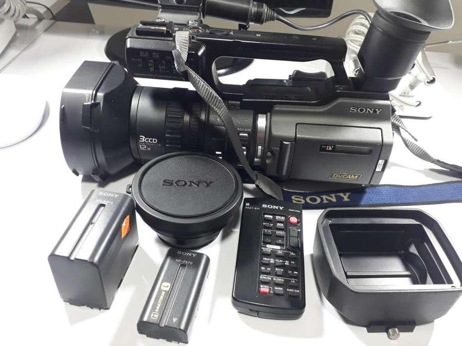 Filmadora pro Sony PD 170 con todos los accesorios flamantes