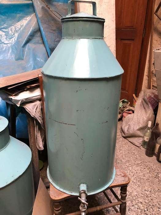 Tanque Deposito de Agua O Licor Galvaniz