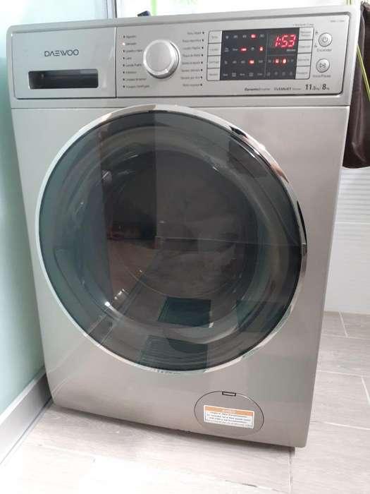 Lavadora Y Secadora Automatico Daewoo