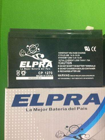 Batería 12x7ah ELPRA CP1270 Alarma UPS <strong>motores</strong> electricos