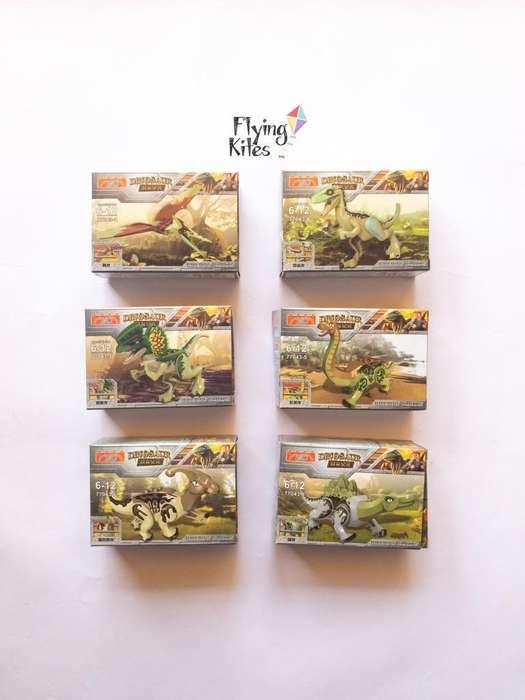 Dinosaurios Mini Simil Lego