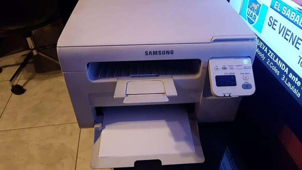 Vendo impresora Laser monocromatica Samsung scx3405w