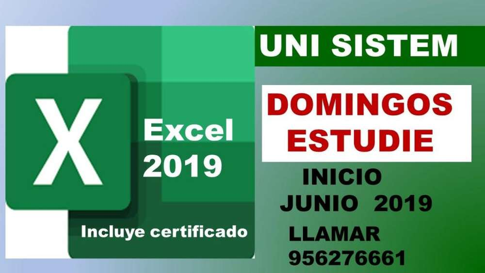 <strong>computacion</strong> EXCEL -DISEÑO - AUTOCAD LLAMAR 956276661