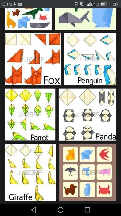 Clases de Origami.