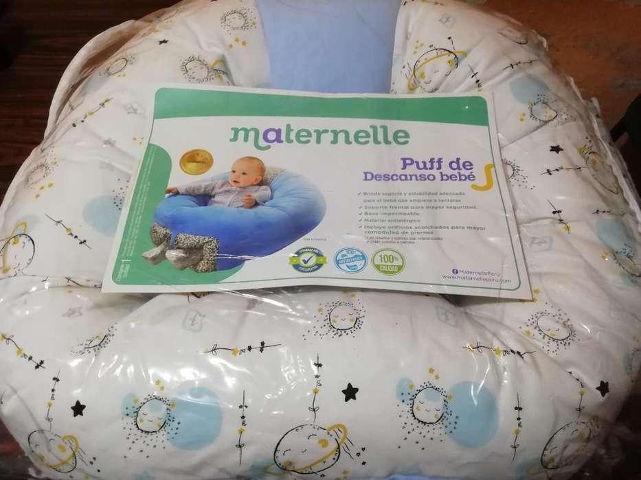 Puff de Descanso Maternelle