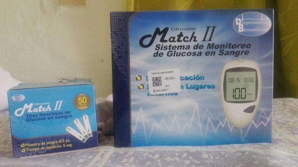 Glucomtero Match II