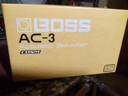Boss Ac3 Acústico