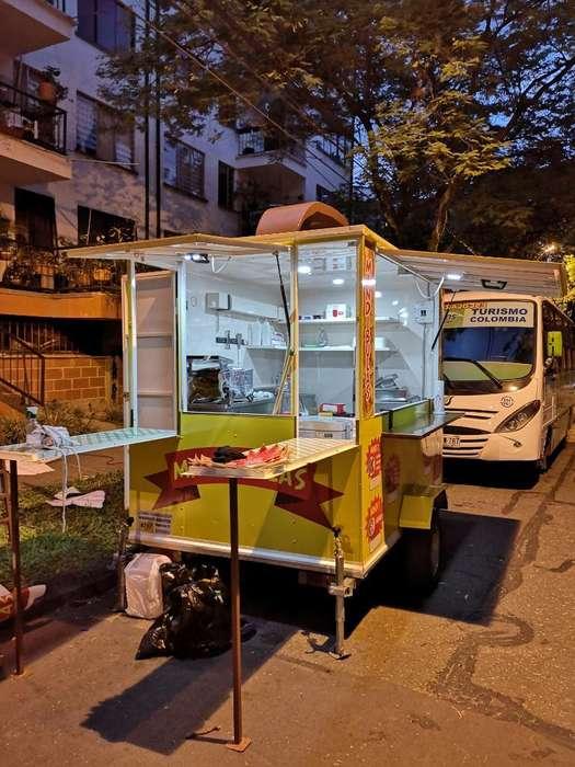 Trailer Excelente Food Truck Recibo Moto