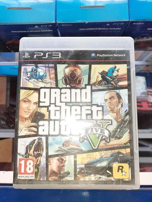 Gta 5 para Consola Ps3 Full