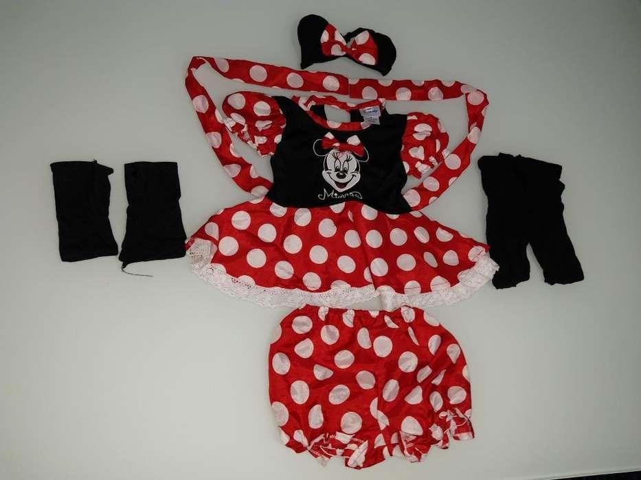 Disfraz Minnie Disney Niña de 6 9 Meses