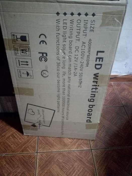Pizarras Acrilicas Con Led 60x40