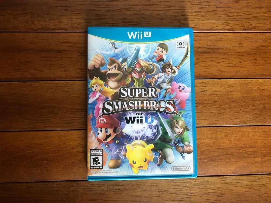 Super Smash Bros for WiiU