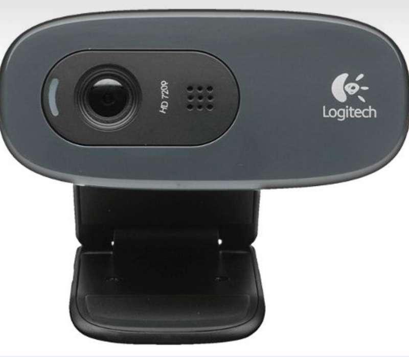 Logitech C270 Webcam Hd 720p