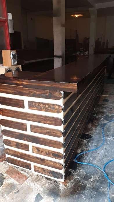 Fabrica de Muebles para Negocio en Pino