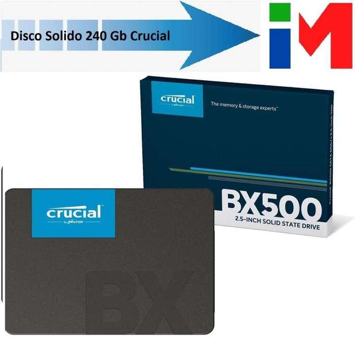 Disco Solido 240Gb Crucial NUEVOS !!!! 1999