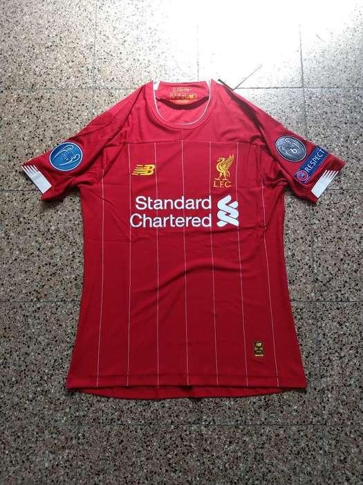 Camiseta Liverpool Match Titular 2020