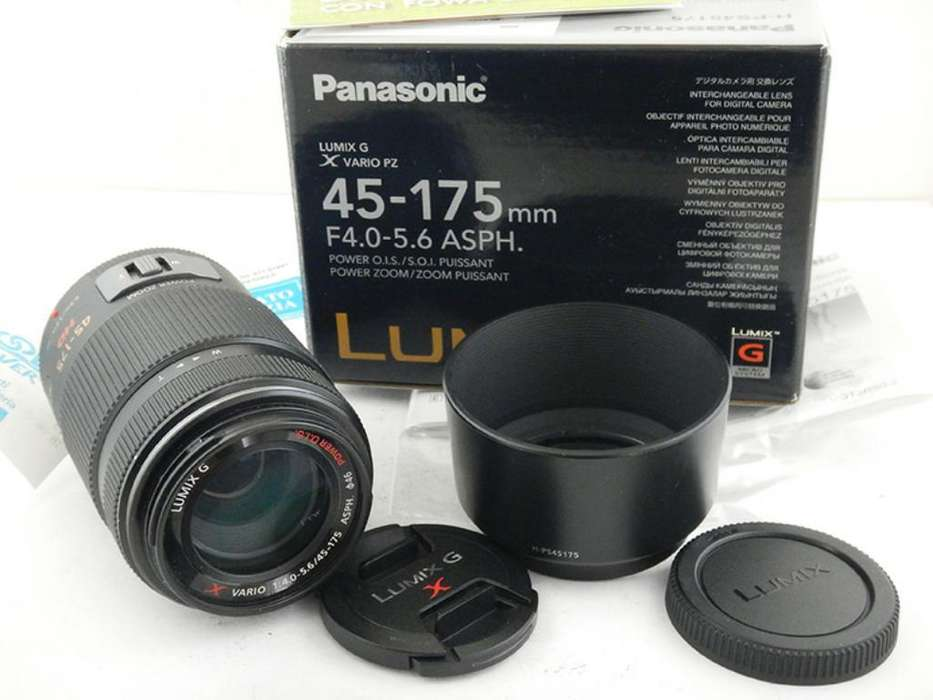 Teleobjetivo <strong>panasonic</strong> Lumix 45 175mm