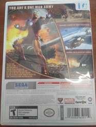 Juego Iron Man Nintendo Wii Original