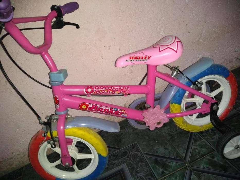Vendo bicicleta nena 3 aos