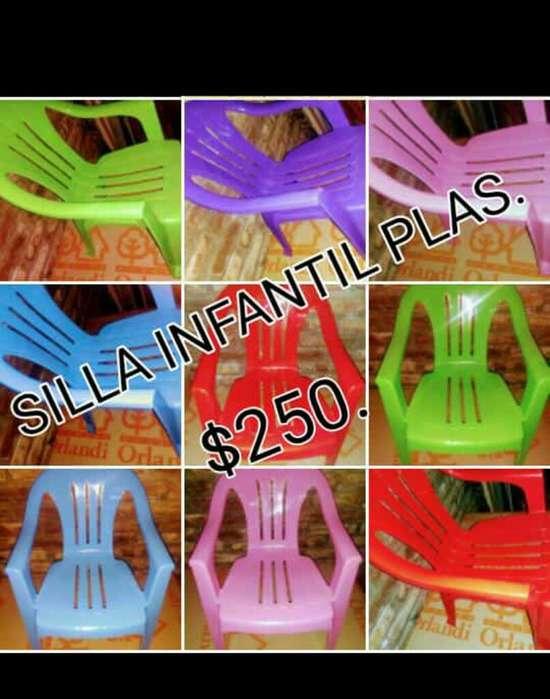 Sillas Infantil Varios Colores