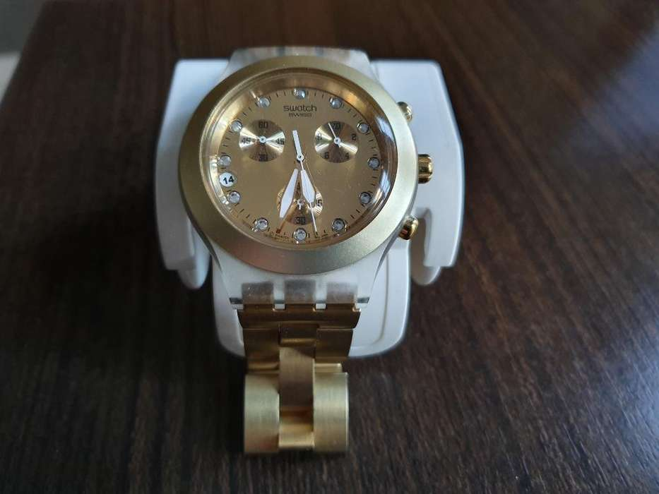 Reloj Swatch Irony Full Blooded Svck4032